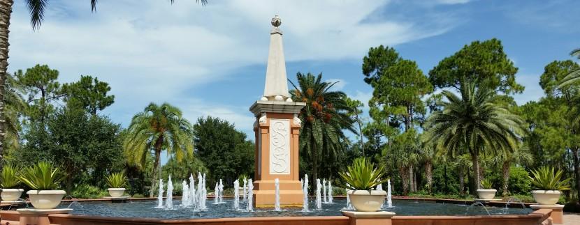 Mediterra fountain