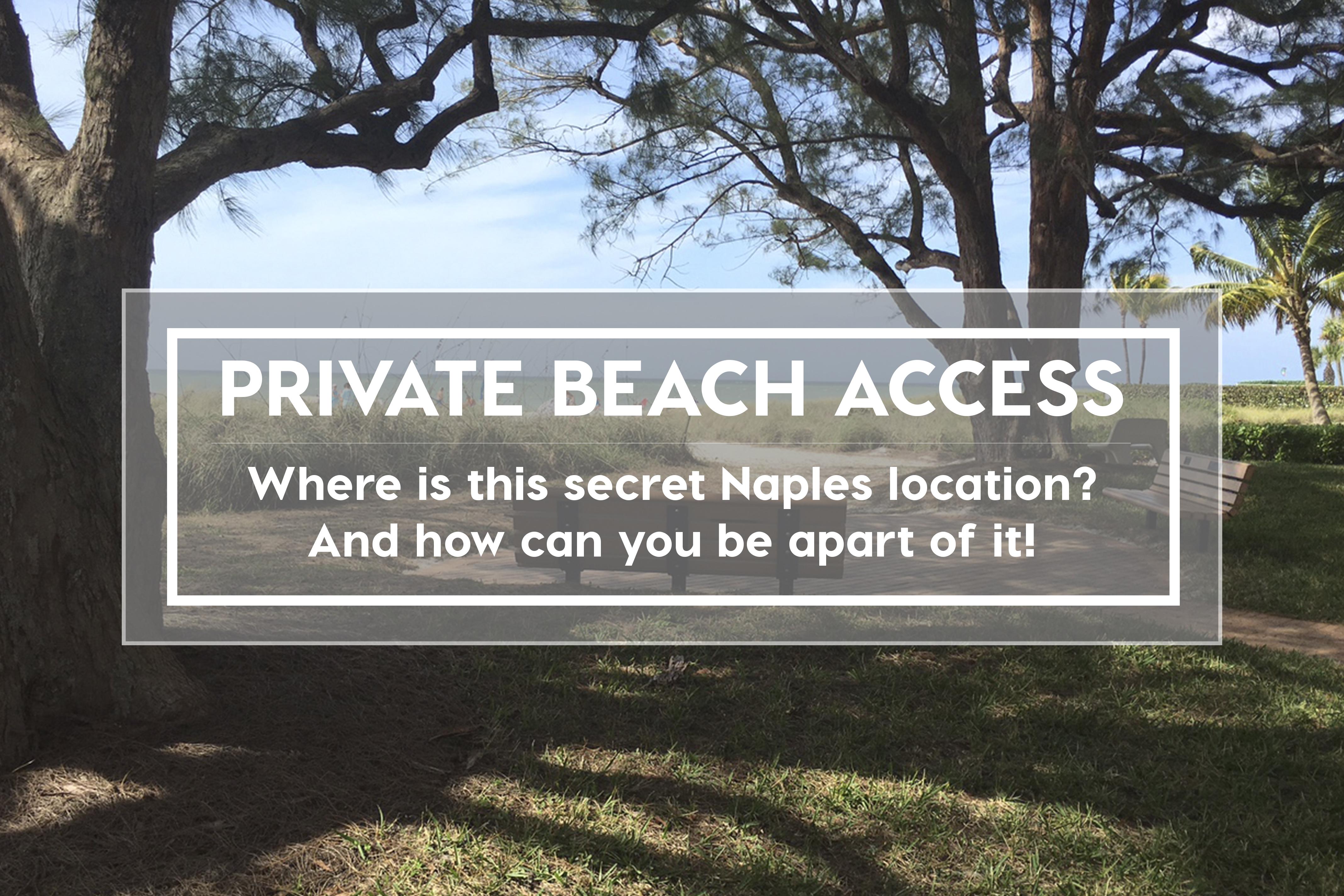 The Moorings Beach Club Naples Florida